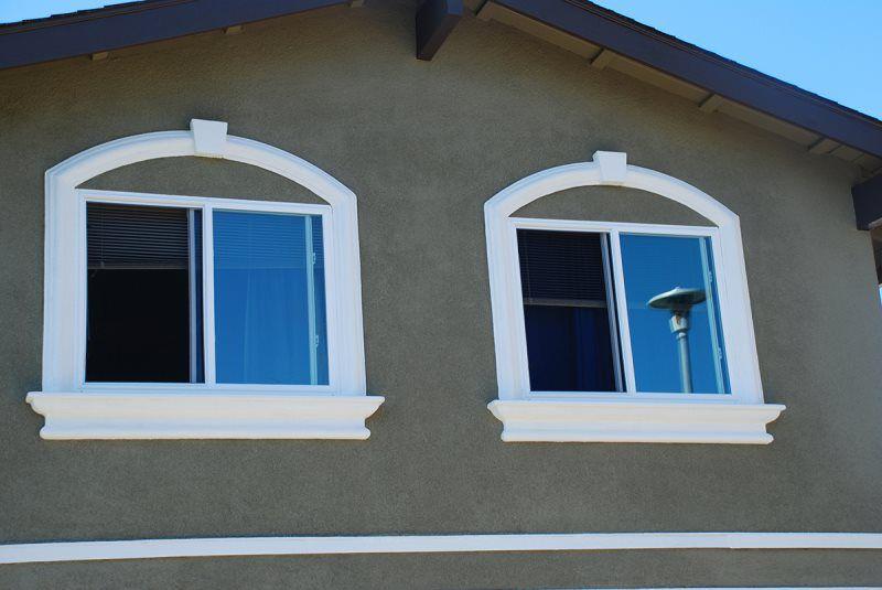 The best decorative foam trim to compliment your home 39 s - Exterior decorative foam molding ...